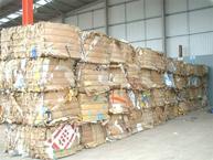 Portland Stone Cardboard Recycling Dorset