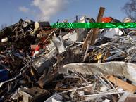 Portland Stone Recycling Metal Dorset
