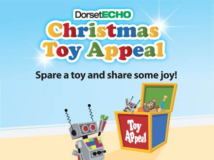 Dorset Echo Christmas Toy Appeal Portland Skips Donation