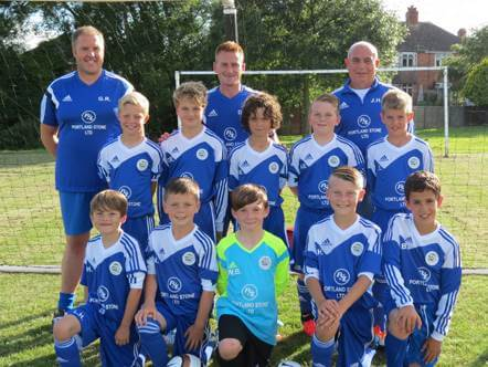 Portland Skips Sponsors local Youth Football team