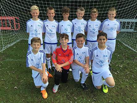 Portland Stone Sponsors Under 11s Football Team