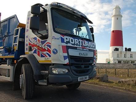 Portland Stone adds DAF10 to Fleet – Order Skips Online Dorset