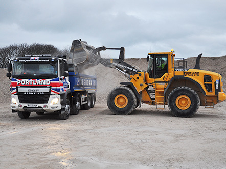 Portland Stone New Tipper Lorry Expanding our Fleet