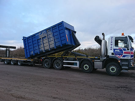 Portland Stone New Hooklorry & Drawbridge Trailer Added to The Fleet